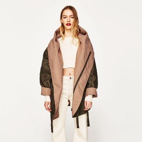 Куртка/парка/пальто оверсайз/oversaize Zara Studio