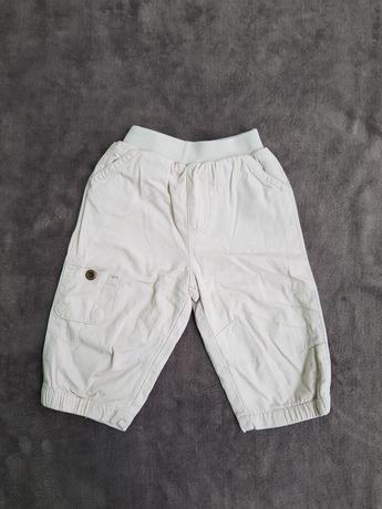 Spodnie 74 spodenki chłopięce