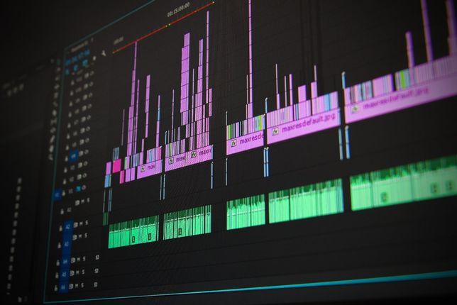 Montaż filmowy, edycja video, obróbka filmów wideo, teledysk, dron