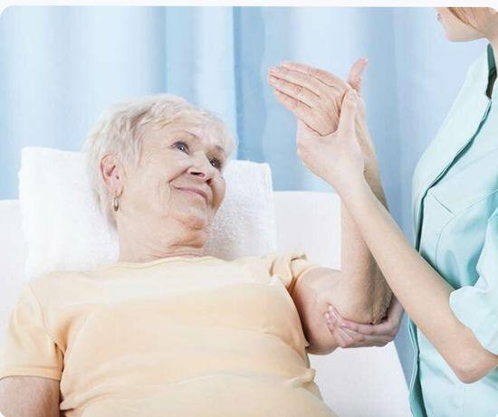Массаж для пожилых, лежачих