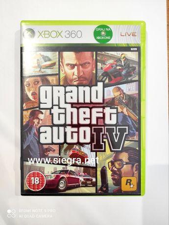 Grand theft auto IV Xbox 360 GTA IV