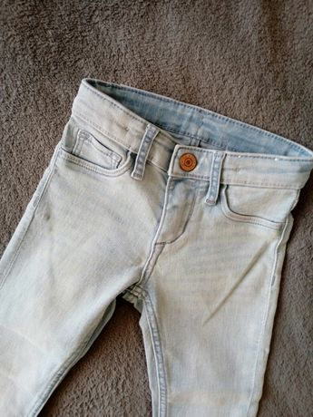 Skinny Fit & Denim jeansy rurki H&M