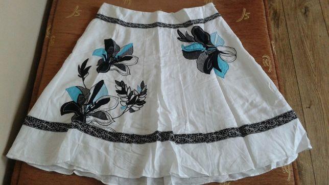 Monsoon zjawiskowa lniana spódnica