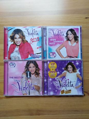 Płyta CD/DVD Violetta