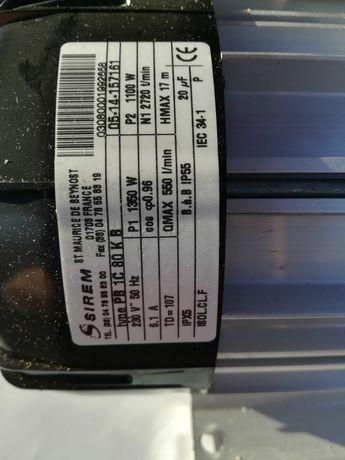 Pompa wodna myjąca do schładzalników mleka ,nowa.