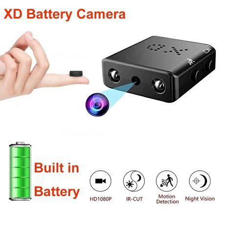 Mini câmara com detecção de movimento HD