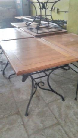 Меблі ковані для кафе, комплект: стіл+4 стільці=400дол.