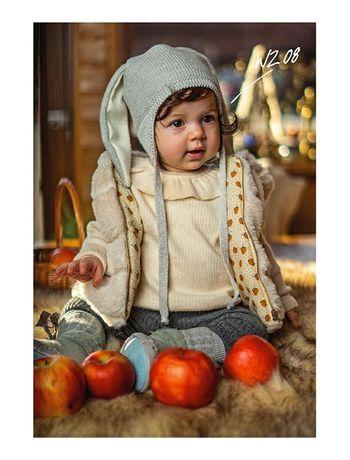 Зимняя детская шапка Barbaras, Польша на девочку, мальчика