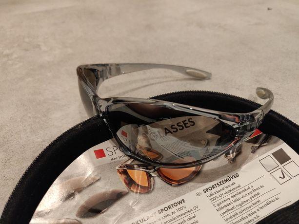 Okulary sportowe pliwenglanowe UV