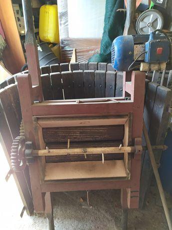 Esmagador Madeira Nº2 com Motor Eléctrico