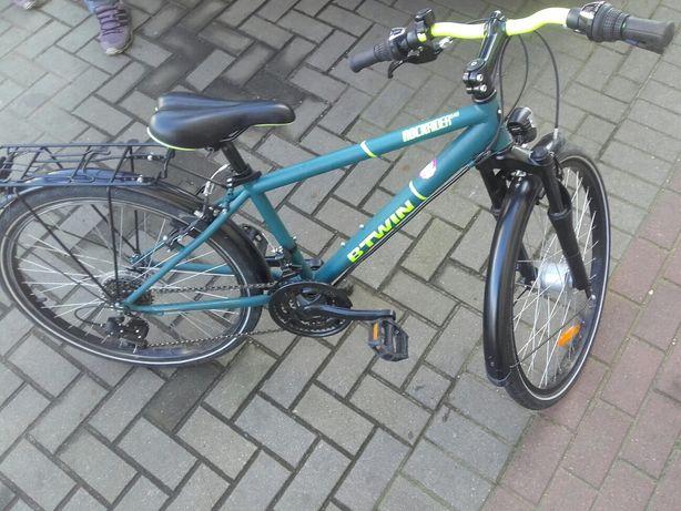 """rower miejski Rockrider 540 24"""" dla dzieci Btwin"""