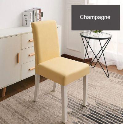 Pokrowce na krzesła do kuchni - jadalni - salonu 6SZT. komplet