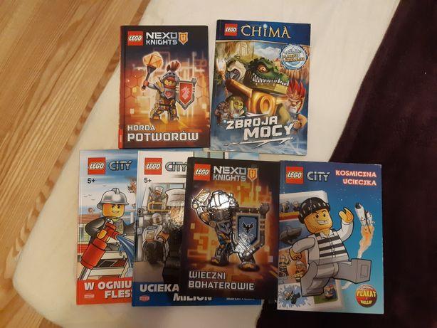 Książki, książeczki seria Lego, dla dzieci