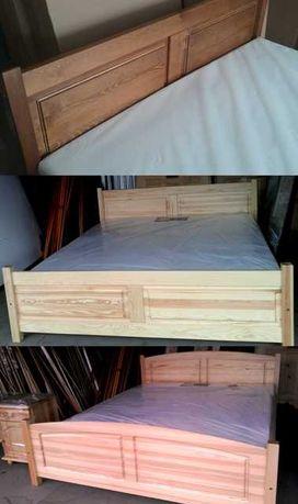 Łóżko 120x200 z materacem drewno sosnowe nowe