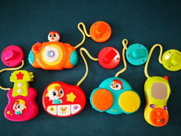 Набор подвесных музыкальных игрушек Huile Toys