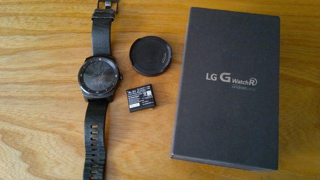 LG G Watch R uszkodzony uruchamia się komplet na części