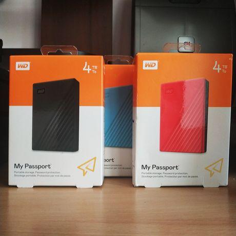 4TB Внешний жесткий диск WD MyPassport НОВЫЙ