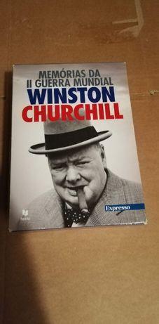 Memórias II Guerra Mundial Winston Churchill (Novo)