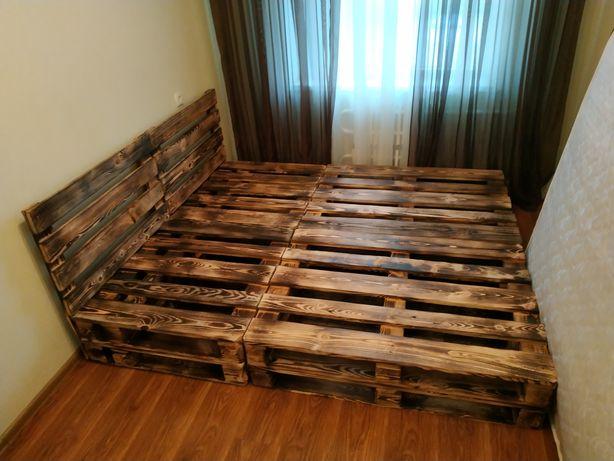 Кровать из поддонов.Мебель из поддонов.Стол