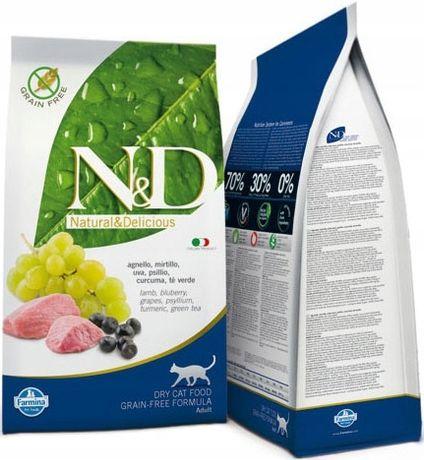 ND 2713 Cat No Grain Lamb Blueberry 5kg