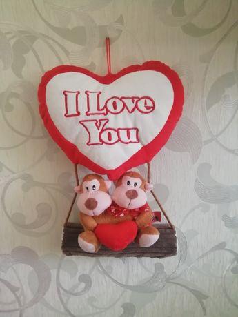 "М'яка іграшка ""I lovе you''"