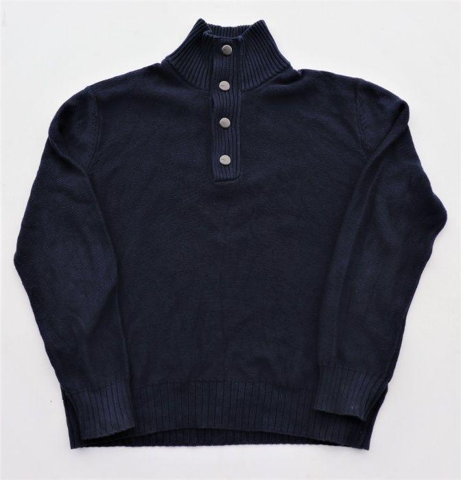 Męski bawełniany sweter MEXX r. XXL granatowy markowy okazja! Węgierska Górka - image 1