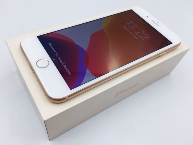 iPhone 8 PLUS 64GB GOLD • NOWA bateria • GW 1 MSC • AppleCentrum