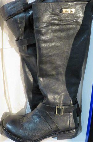 Botas Versace usadas apenas uma vez