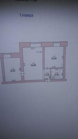 Продам двохкімнатну квартиру в гуртожитку