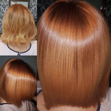Кератиновое выпрямление волос Киев Печерск