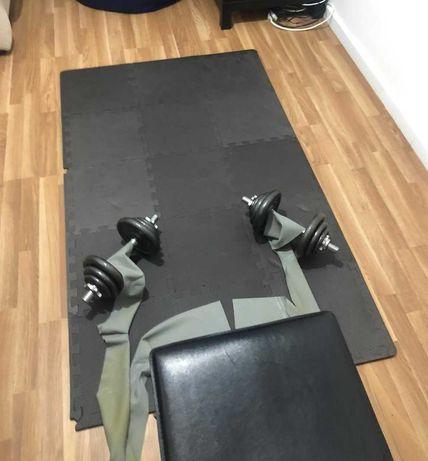 [PACK]Tapete puzzle para exercício e proteção
