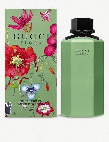 Туалетная вода оригинал Gucci Flora Emerald Gardenia 100 ml