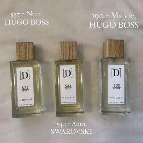 Perfumes semelhantes a Hugo Boss e Swarovski