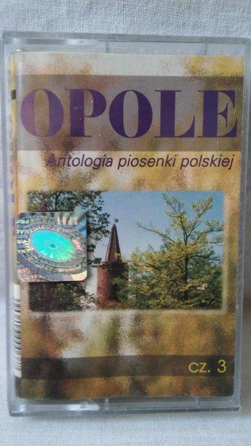Kaseta magnetofonowa Opole Antologia piosenki polskiej cz 3