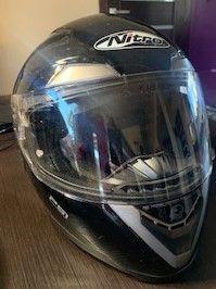 Kask motocyklowy Nitro PSI blenda rozm. S