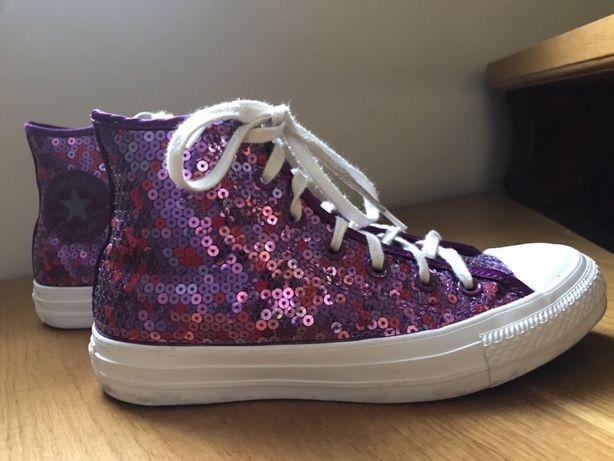 Buty trampki Converse 37,5 damskie jak nowe
