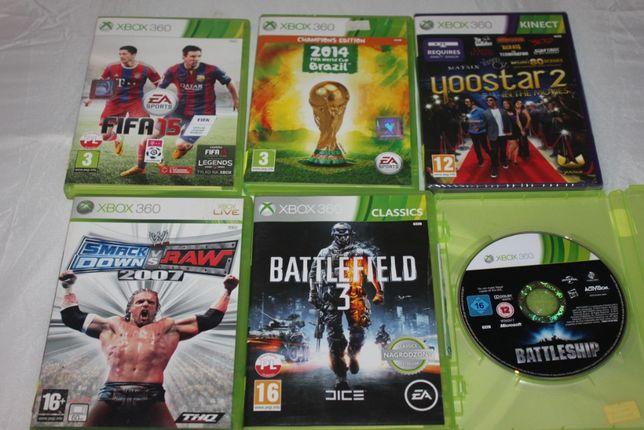 Gry na konsolę Xbox360 Battle Ship Yoostar 2 Smack Down VS Raw 2007