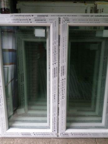 Sprzedam okno pcv nowe wys 143 szer 146 dwuskrzydłowe . TANIO .