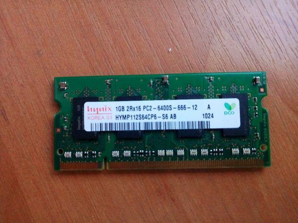 Модуль памяти для ноутбука DDR2 1Gb. ОЗУ