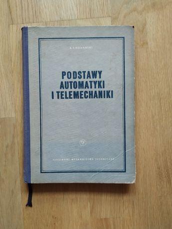 Podstawy automatyki i telemechaniki, B. I. Domanski, Warszawa 1954