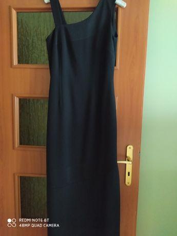 Czarna suknia wieczorowa rozmiar 38