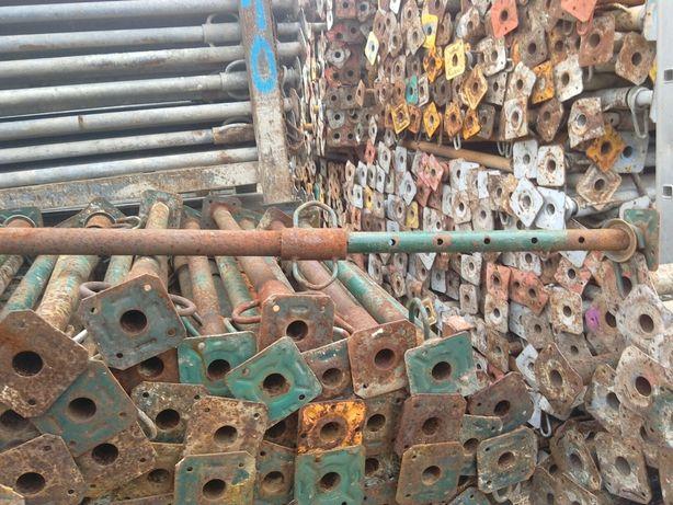 Stemple budowlane metalowe podpory stropowe szalunki sklejka doki