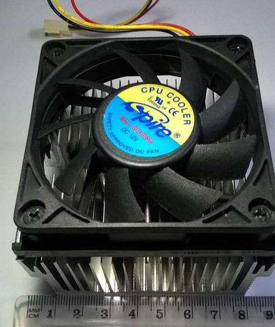 Cooler Ventoinha Ventilador Spire CPU 12V com Dissipador Intel PC