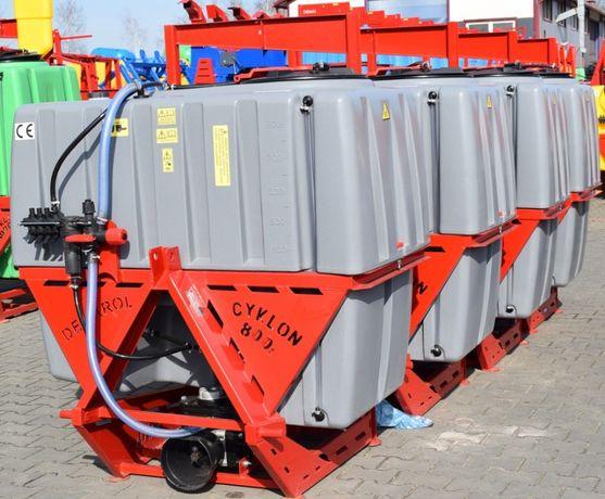 Opryskiwacz zawieszany 800 litrów lanca 12m CYKLON nowy opryskiwacze