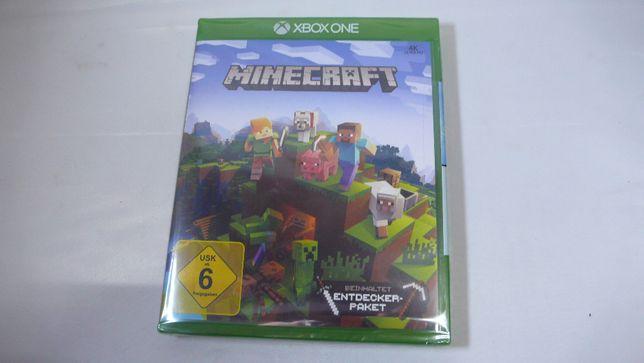 Minecraft podstawa + pakiet odkrywców nowa w folii do XBox One XBOXONE