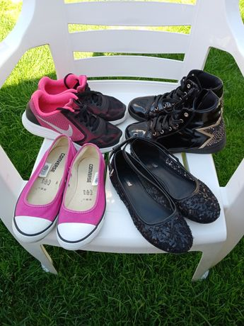 Обувь, Converse, Nike, взуття, красовки,туфельки, р. 35-36 (22,5 см)
