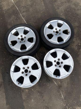 "Felgi aluminiowe 17"" 5x112 7,5J ET56 Audi A3 A4 A6 Golf V Leon II"