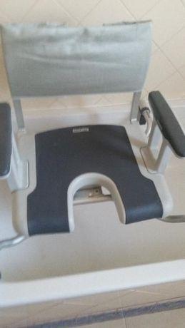 cadeira de banho aquatec Nova para idosos