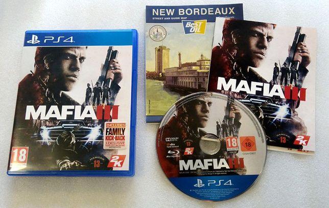 Mafia III na PS4 Stan b.dobry, bez rys. Możliwość zamiany.