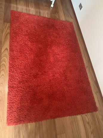 Tapete Hampen ikea 133x195 cm vermelho usado